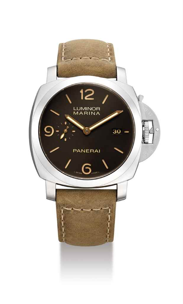 PANERAI. AN ATTRACTIVE STAINLE