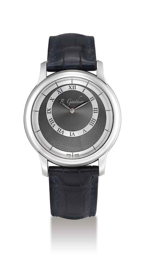 ROMAIN GAUTHIER. A FINE AND RA