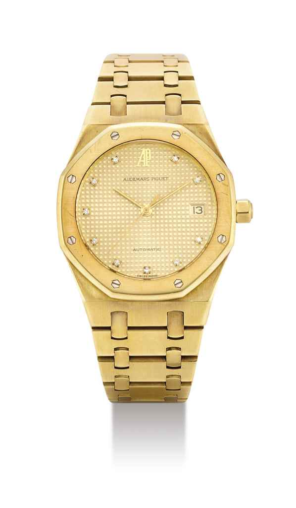 AUDEMARS PIGUET. AN 18K GOLD A