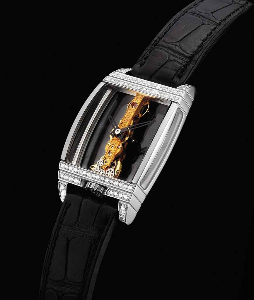 CORUM. A FINE PLATINUM AND DIA
