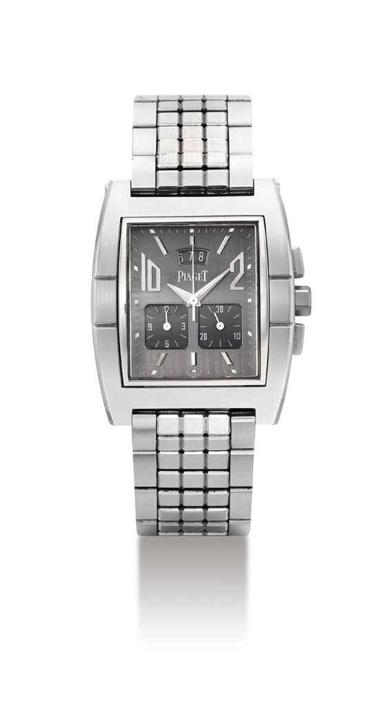 PIAGET. A STAINLESS STEEL TONN