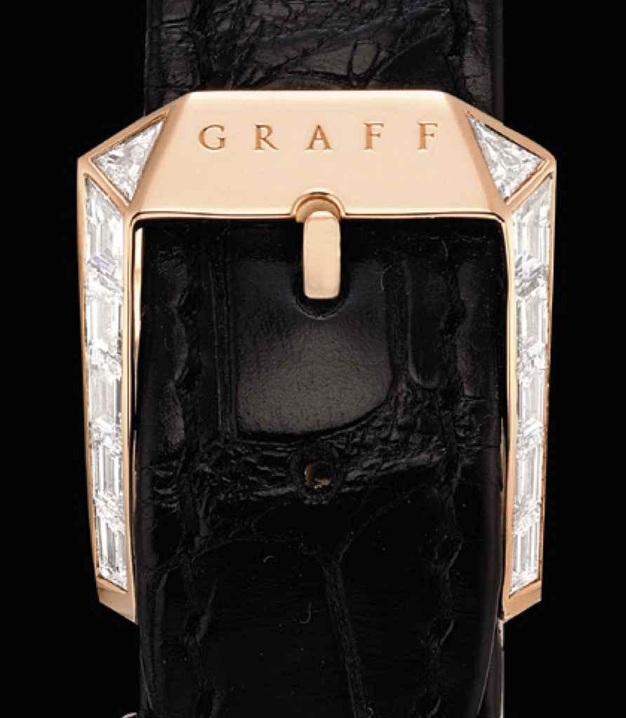 GRAFF. A FINE 18K PINK GOLD AN