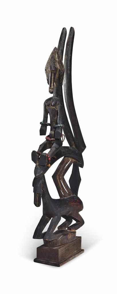Cimier Bamana Bamana headdress
