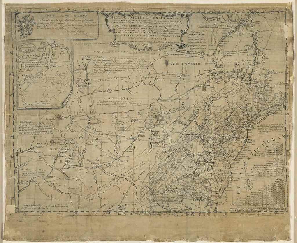 EVANS, Lewis (ca 1700-1756). A