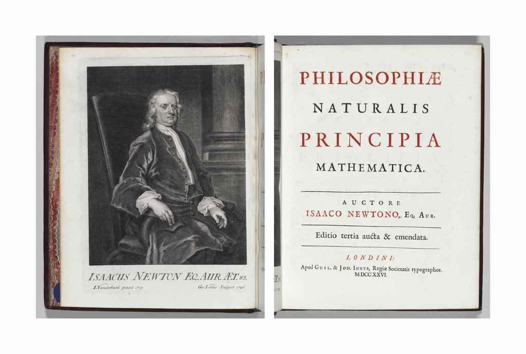 NEWTON, Sir Isaac. Philosophia