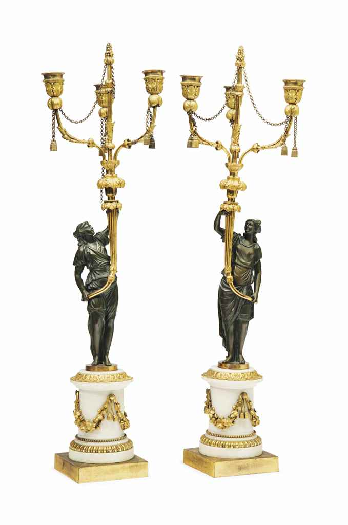 A PAIR OF LOUIS XVI ORMOLU, PA