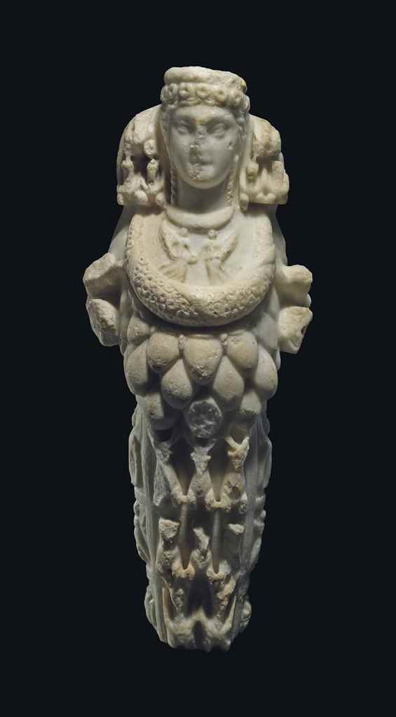 A ROMAN MARBLE ARTEMIS OF EPHE