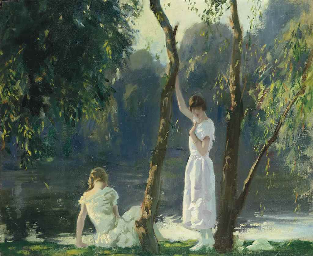 Archibald George Barnes, R.I.,