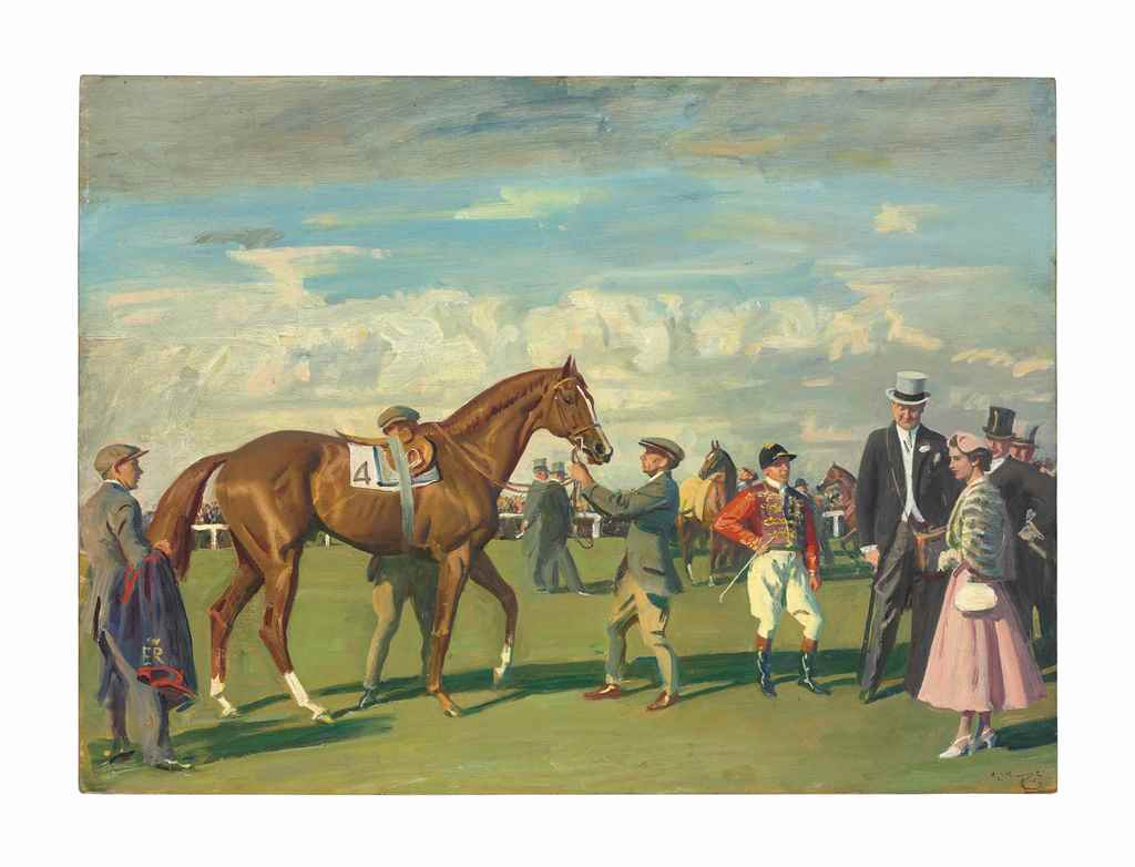 Sir Alfred James Munnings, P.R