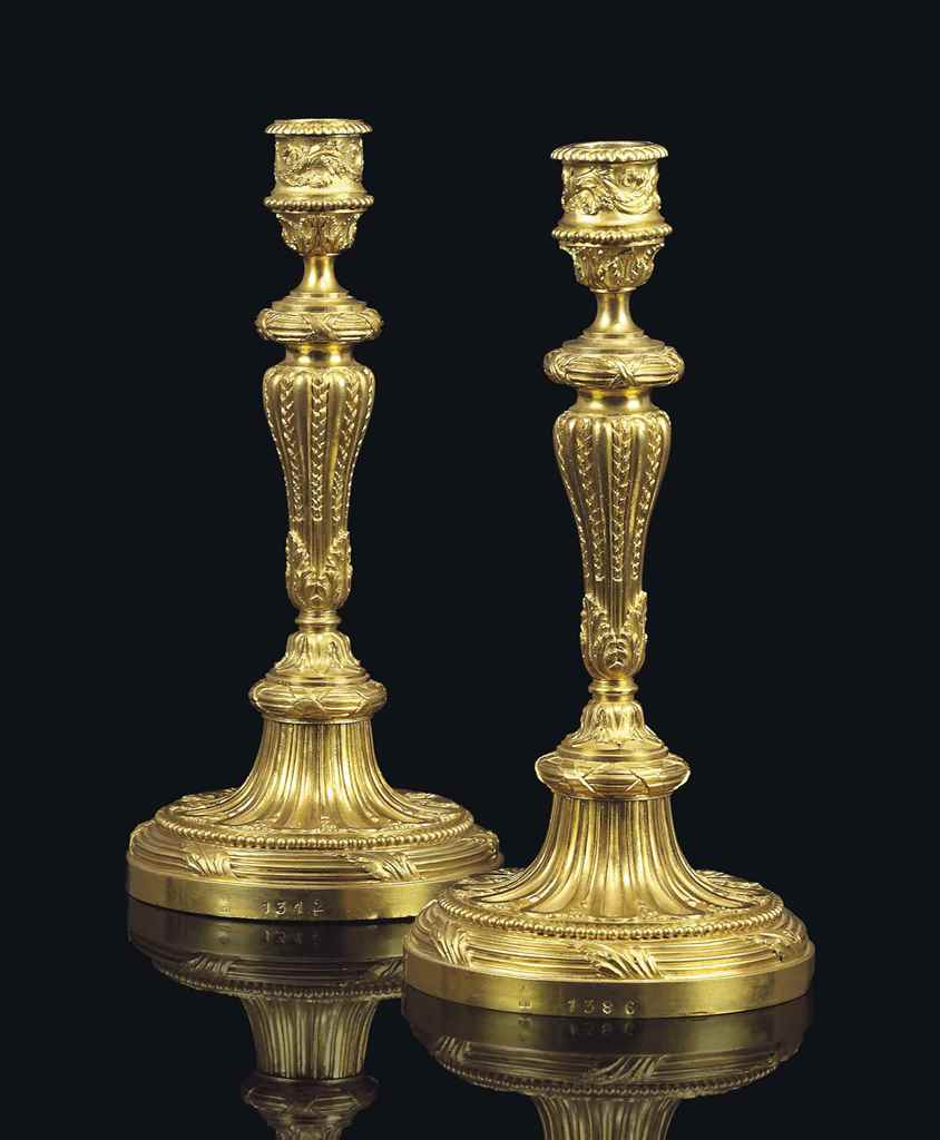 A PAIR OF ROYAL LOUIS-PHILIPPE