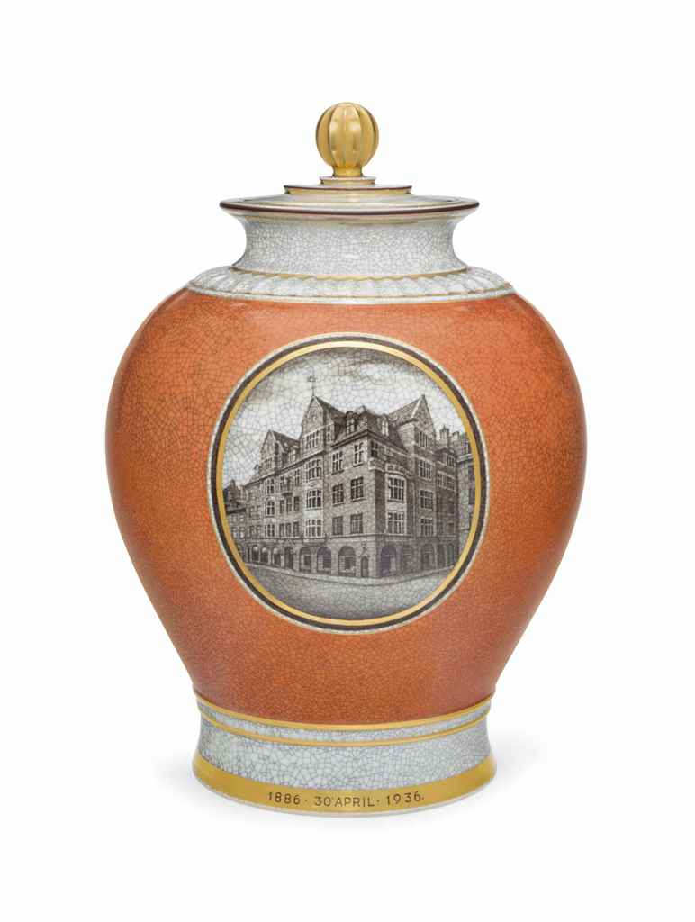 A ROYAL COPENHAGEN PORCELAIN V
