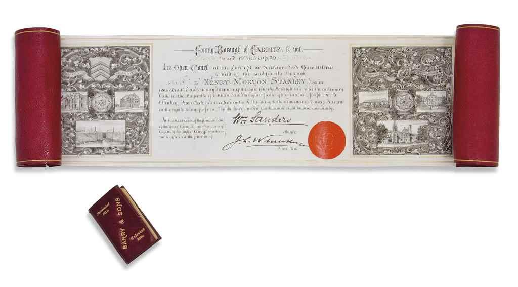 SIR HENRY MORTON STANLEY GCB (