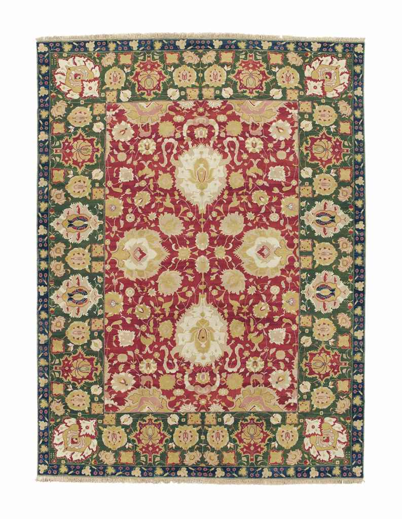 AN AGRA STYLE CARPET