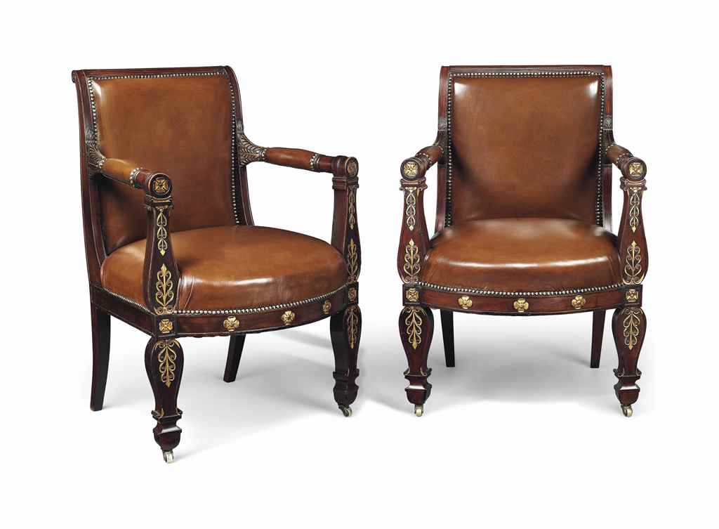 A PAIR OF LOUIS PHILIPPE PARCE