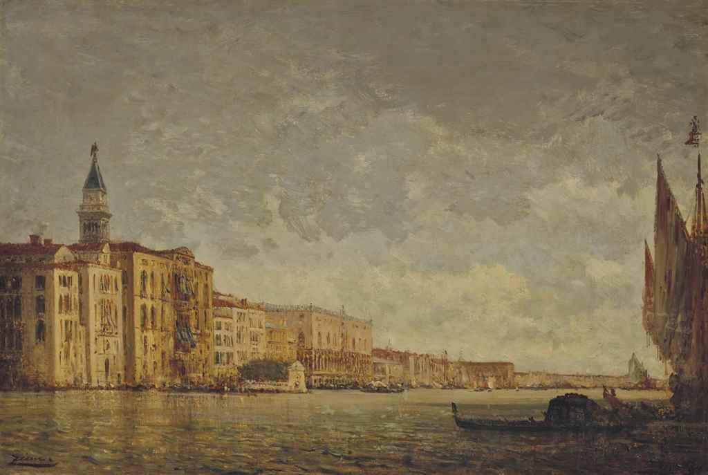 FÉLIX ZIEM (BEAUNE 1821-1911 P