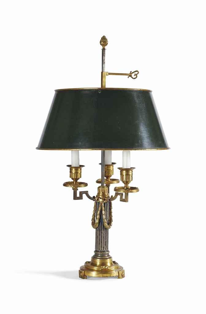 LAMPE BOUILLOTTE DE LA FIN DE