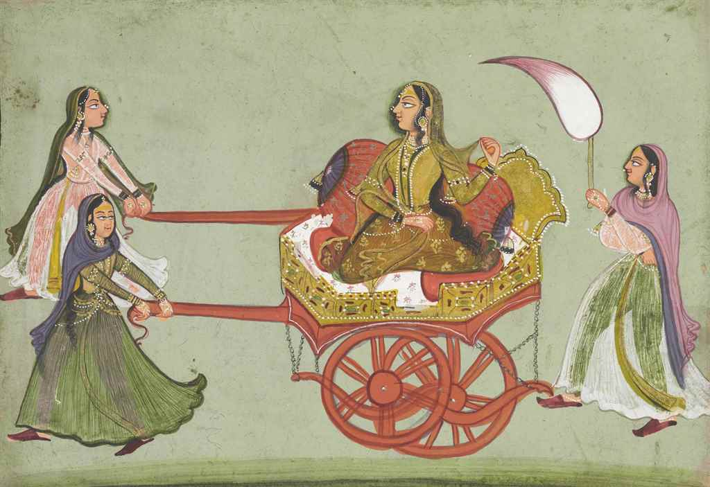 A Lady in a Chariot