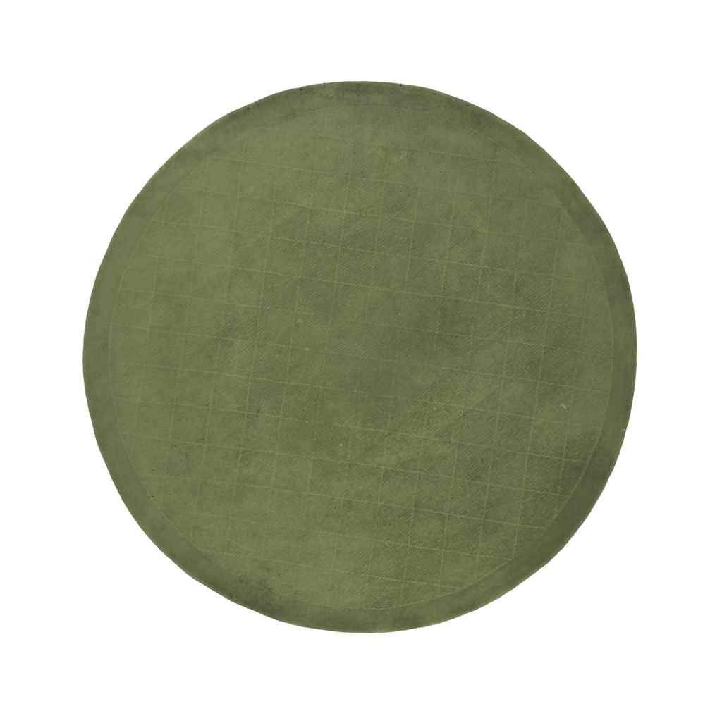 A MODERN GREEN CIRCULAR MACHIN