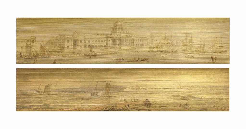 [FORE-EDGE PAINTING]. JUNIUS,