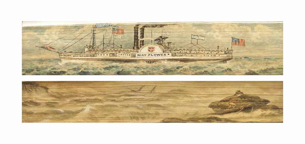 [FORE-EDGE PAINTINGS]. HERBERT