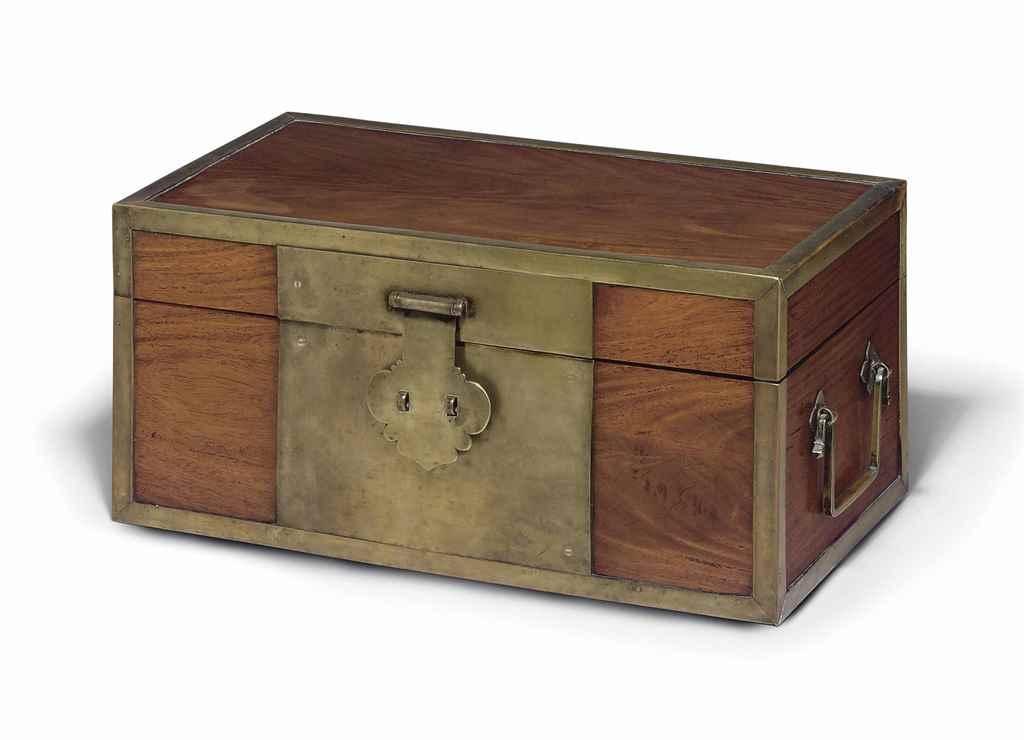 A HUANGHUALI DOCUMENT BOX