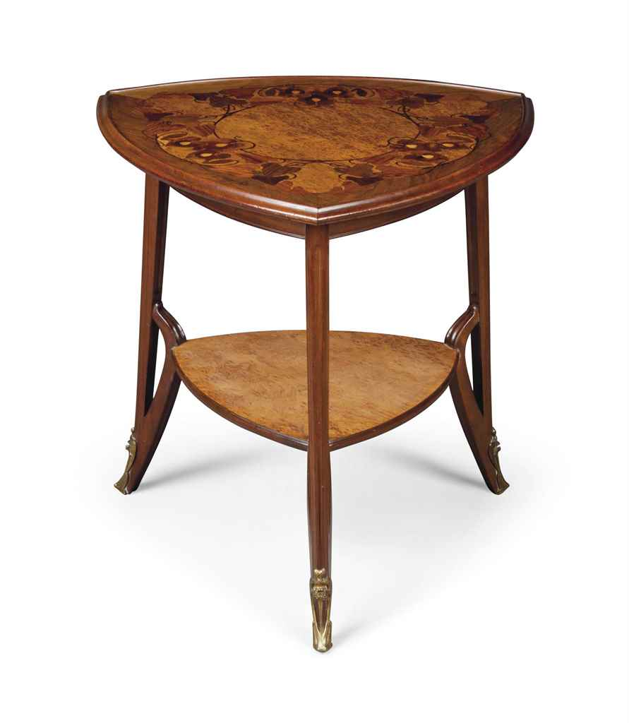 LOUIS MAJORELLE MARQUETRY TWO-