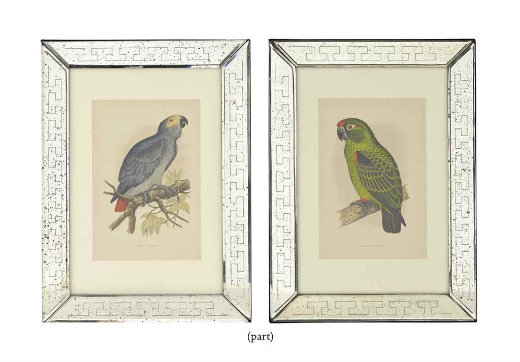 TWELVE CHROMOLITHOGRAPHS FROM