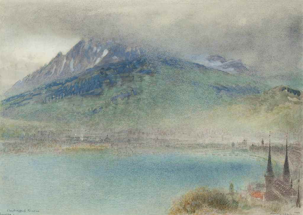 Albert Goodwin, R.W.S. (Maidst