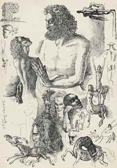 Image result for sewell mervyn peake christie's