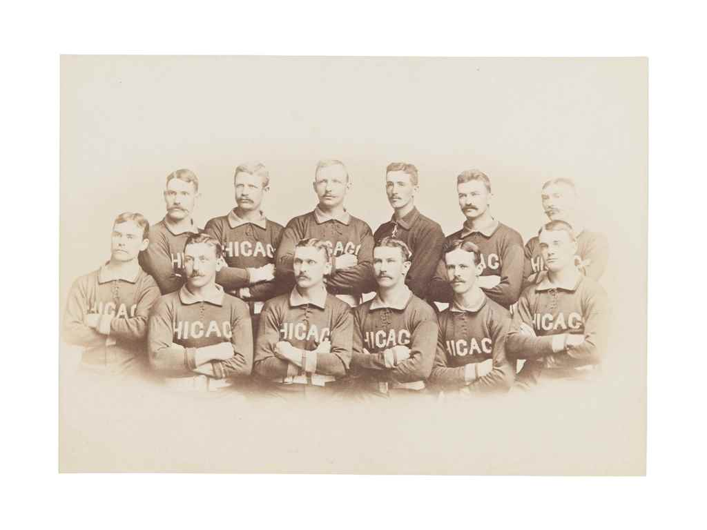 1885 CHICAGO WHITE STOCKINGS C