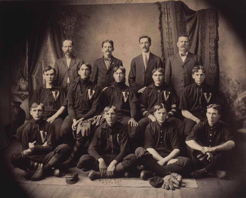 1907 VICTOR MILLS BASEBALL TEA