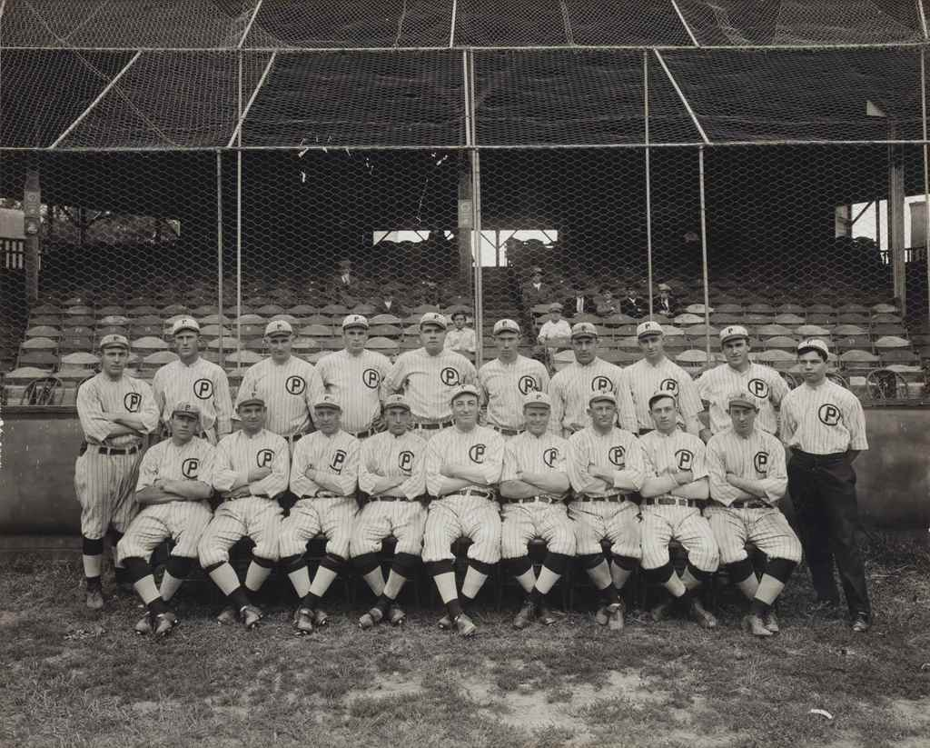 1914 PROVIDENCE GRAYS TEAM PHO