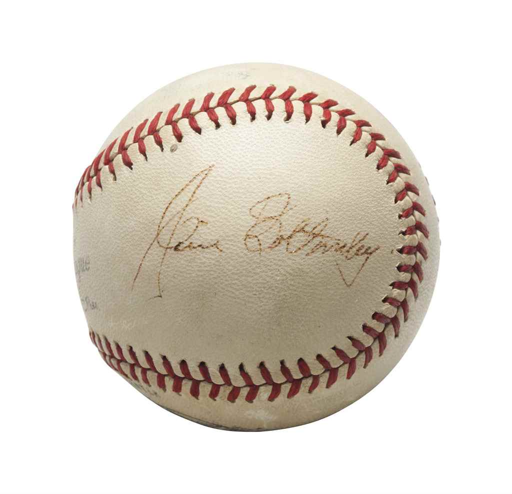 JIM BOTTOMLEY SINGLE SIGNED BA
