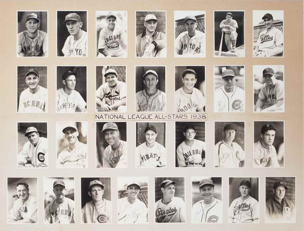 1938 NATIONAL LEAGUE ALL STAR