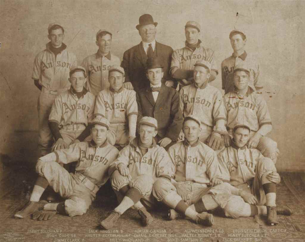 1908 ANSON COLTS TEAM PHOTOGRA