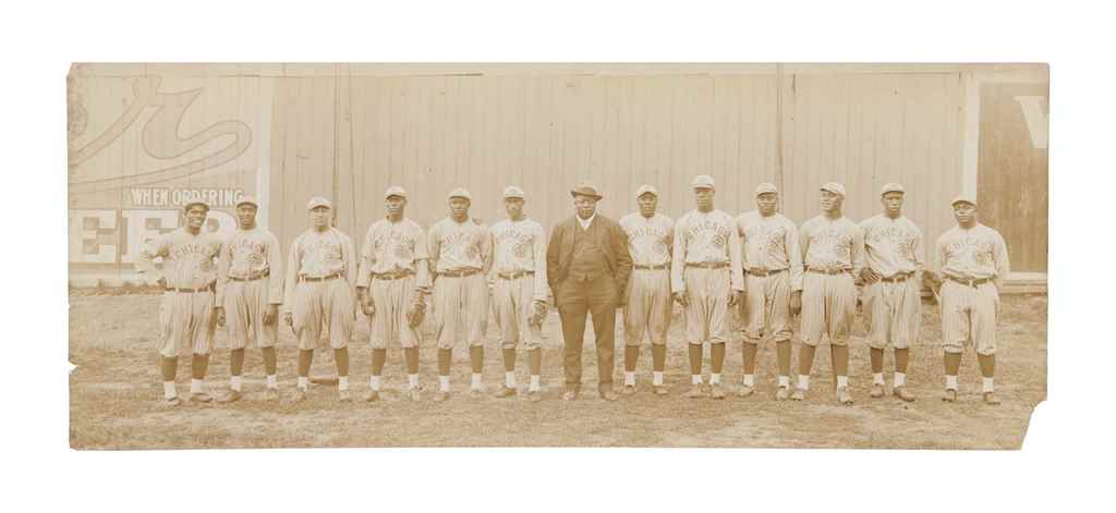 1916 CHICAGO AMERICAN GIANTS P