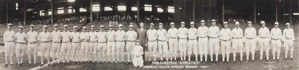 1929 PHILADELPHIA ATHLETICS TE