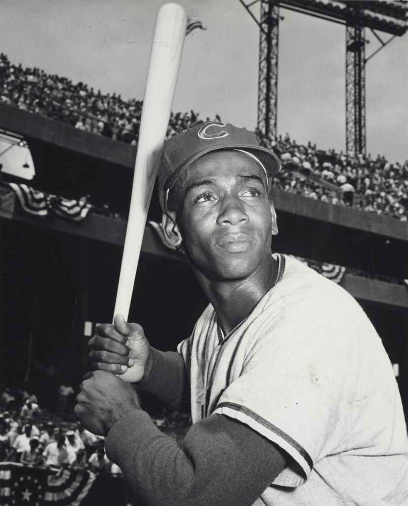ERNIE BANKS PHOTOGRAPH