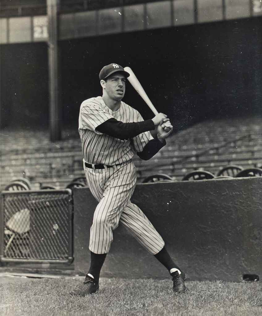 JOE DIMAGGIO PHOTOGRAPH