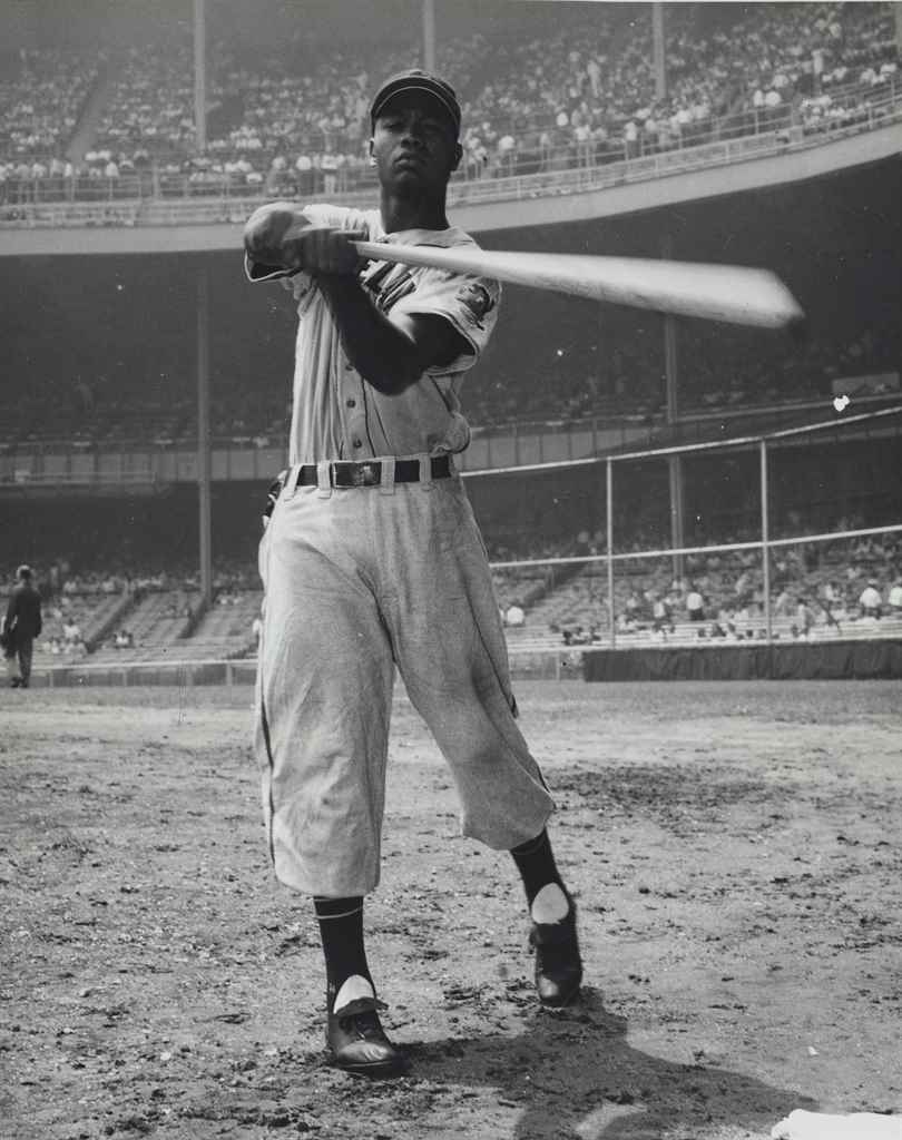 LARRY DOBY PHOTOGRAPH