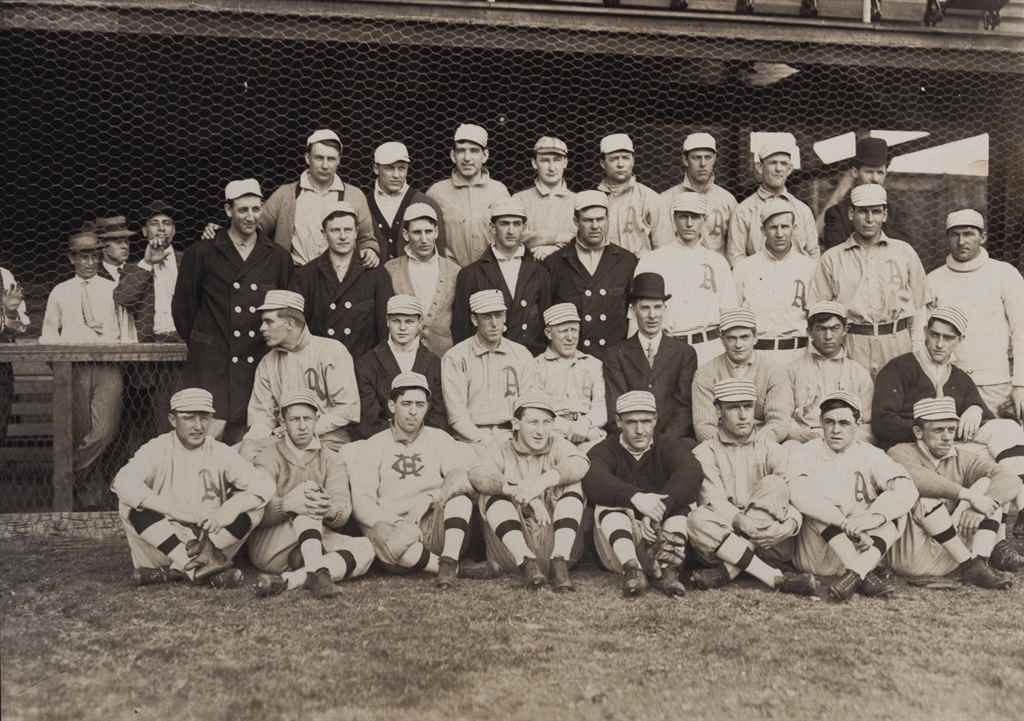 1909 PHILADELPHIA ATHLETICS TE