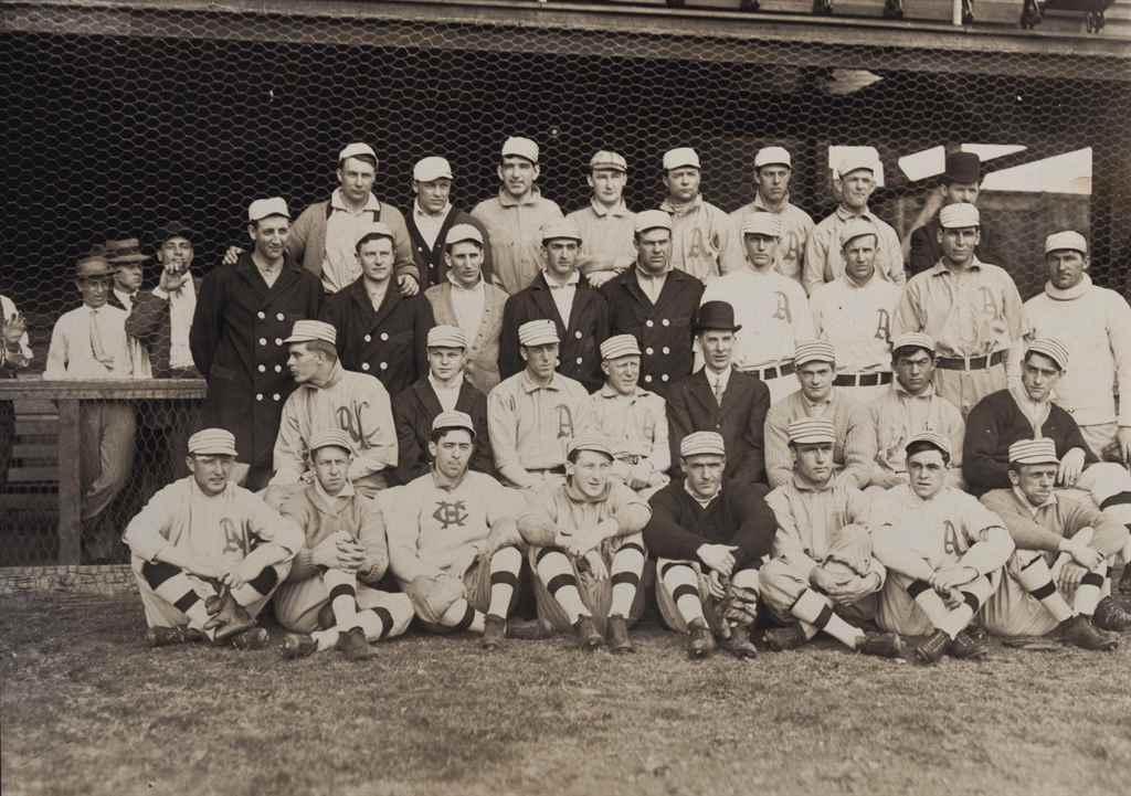 1909 PHILADELPHIA ATHLETICS TE