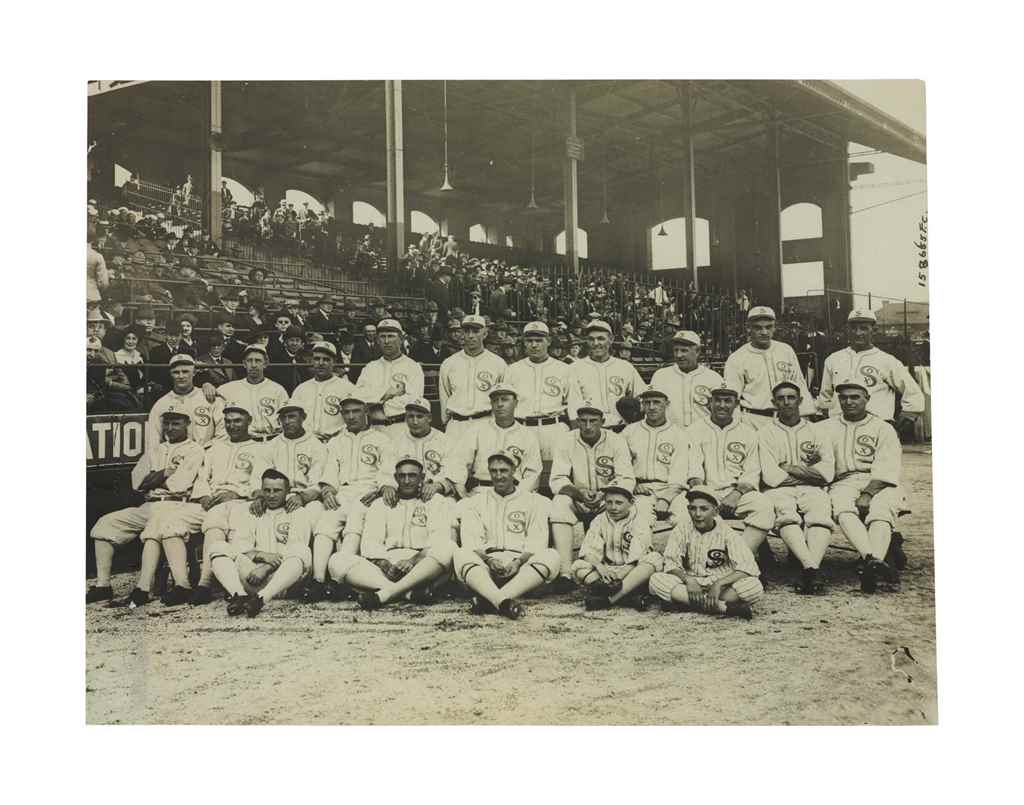 1917 CHICAGO WHITE SOX TEAM PH