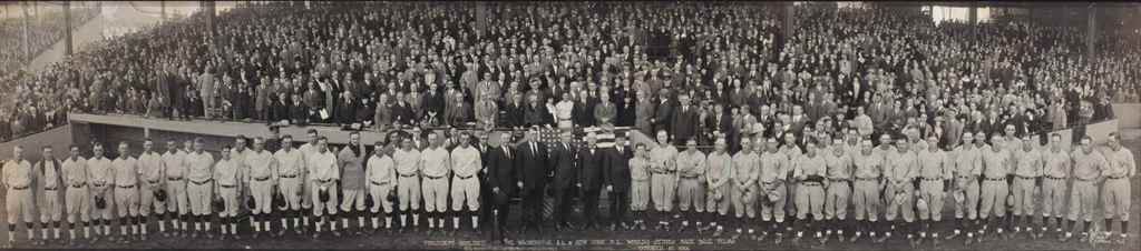 1924 WORLD SERIES PANORAMA
