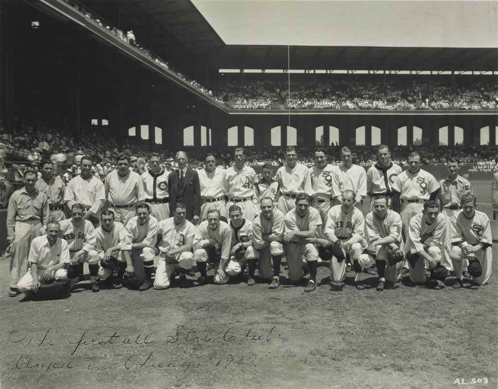 1933 AMERICAN LEAGUE ALL STAR