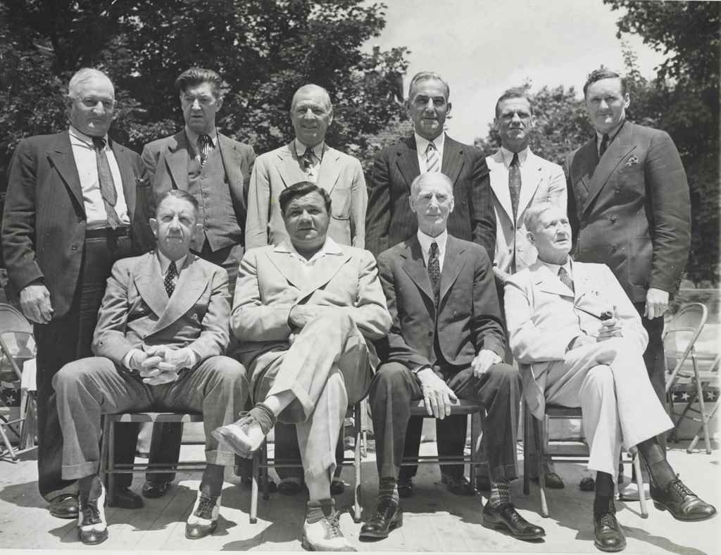 1939 HALL OF FAME INDUCTION PH