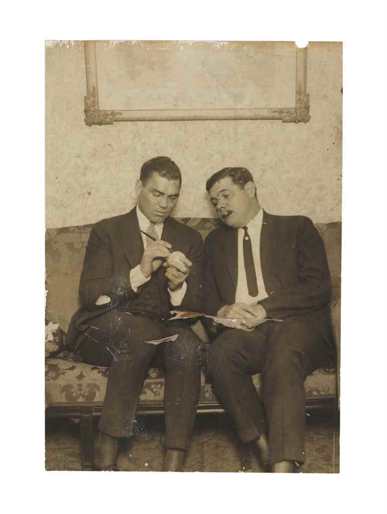 BABE RUTH & JACK DEMPSEY PHOTO