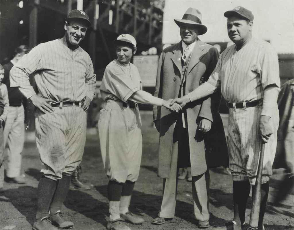 BABE RUTH, LOU GEHRIG & JACKIE