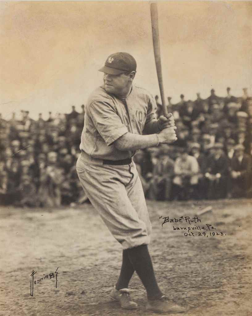 BABE RUTH PHOTOGRAPH