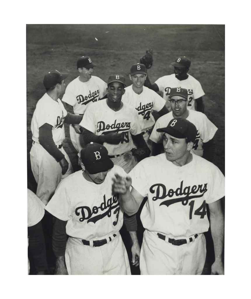 BROOKLYN DODGERS PHOTOGRAPH